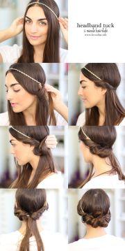easy hairstyle ideas long hair