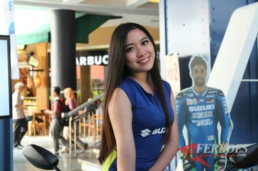 Model Cantik Suzuki itu Namanya Cindy...