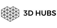 3D Hubs Logo (Horizontal) White copy