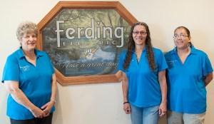 Office Staff: Mary Buxel, Shelli Jones, & Heather Azarski