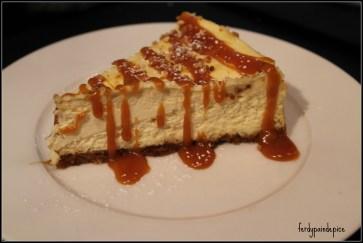 le cheese cake caramel beurre salé du chef Caramel Au Beurres Salé ou Nutella