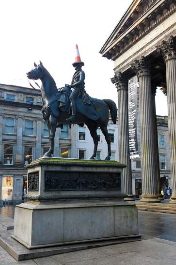 Wellington Statue 1