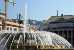 Piazza de Ferrari (Teatro Carlo Felice)