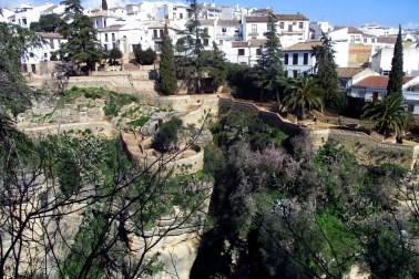 Jardines de Cuenca văzute din Casa del rey moro