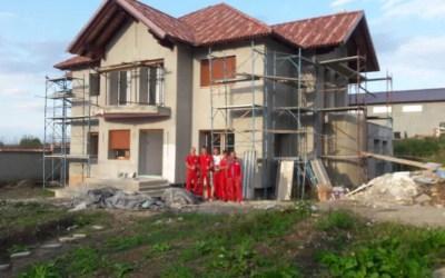 Casa Dumitru – Ferestre Salamander bluEvolution 82 cu toc de renovare in Cisnadie Sibiu