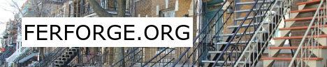 Bannière FerForge.org les spécialistes du fer forgé