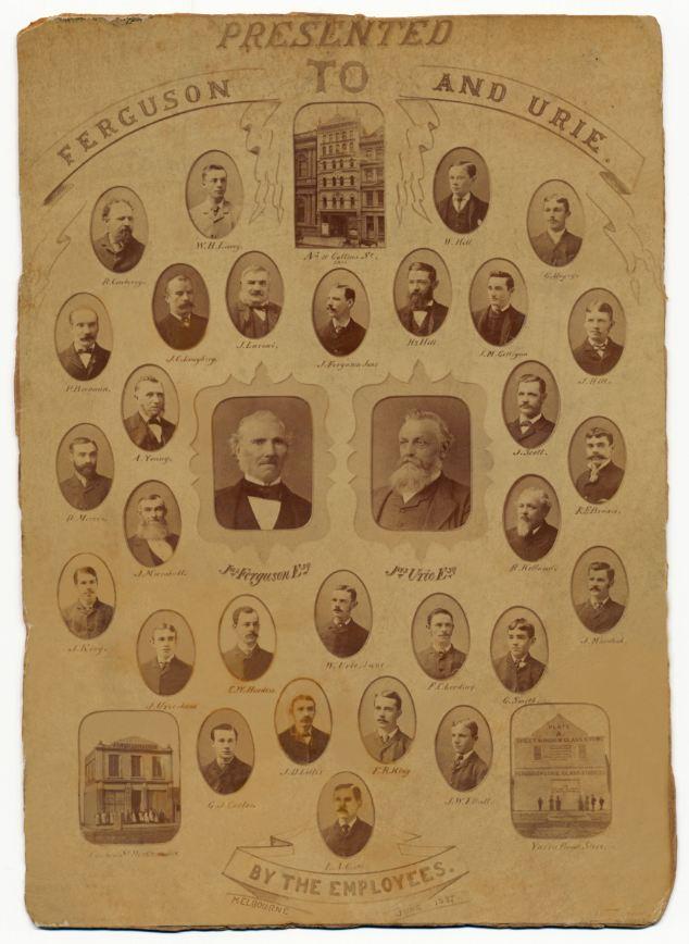The 1887 Ferguson & Urie Company Dinner (2/2)