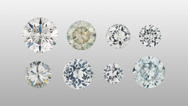 synthetic vs simulated diamonds