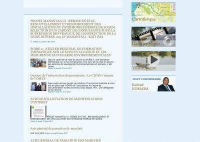 1. The OMVS Homepage
