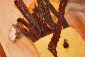 homemade venison jerky