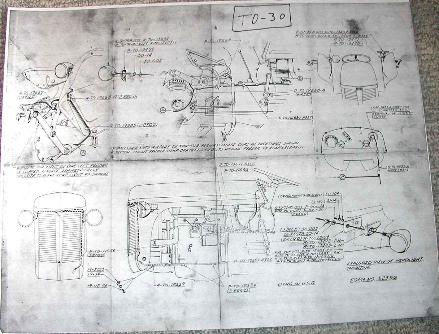 6v To 12v Conversion Mh 44 Wiring Diagram