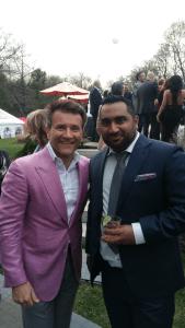 Ferhan Patel & Robert Herjavec
