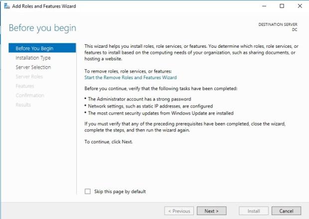 Windows Server 2016 Active Directory Domain Services Kurulumu ve Yapılandırılması