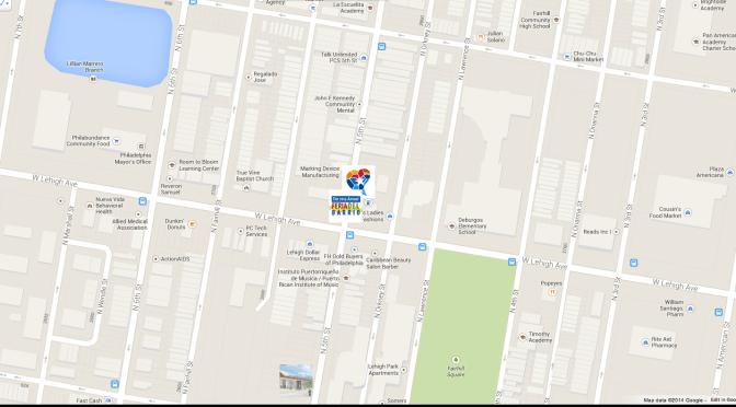 Google Map of Feria