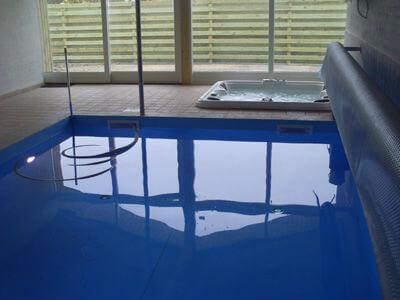 Sommerhus er med adgang til pool, spa og sauna i Blokhus