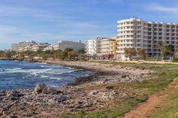 s illot strande auf mallorca