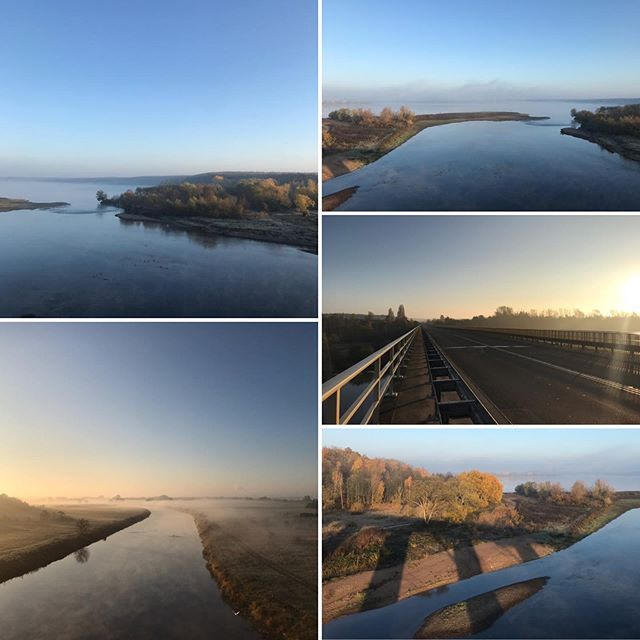 Der Muldestausee bei schönster Morgensonne ️ #muldestausee #mulde #sonne #herbst #pouch #urlaubinpouch