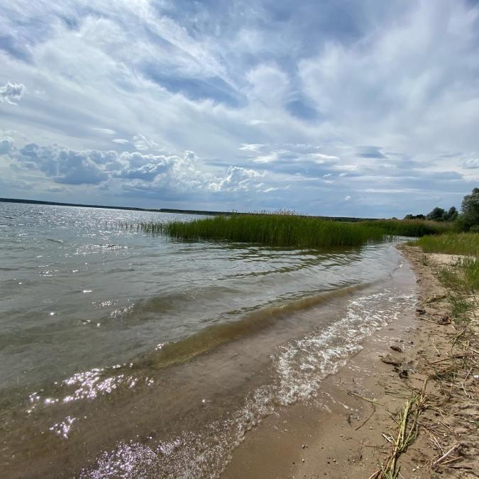Der kräftige Wind lässt nach und bald steigen die Temperaturen wieder ️. Der Goitzsche-Strand ist perfekt für einen tollen Badetag 🏼♀️⛱#goitzsche #pouch #ferienhaushalbritter #muldestausee #goitzschestrand #sommerurlaub #strandurlaub