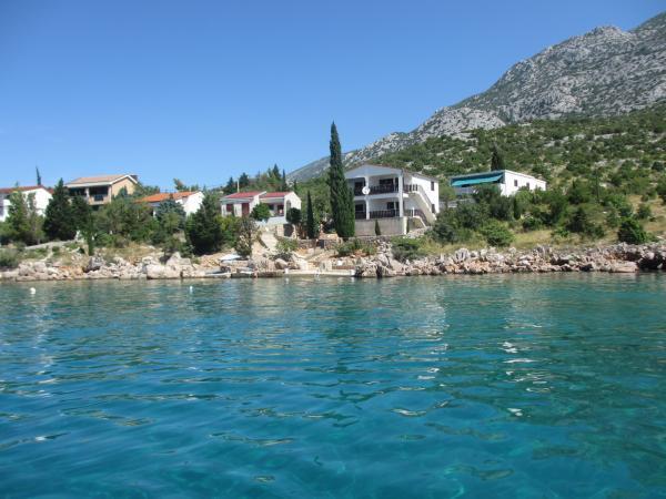 Ferienwohnung in Ribarica Karlobag mit Meerblick