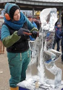 Eisskulpturen Zinnowitz auf Usedom