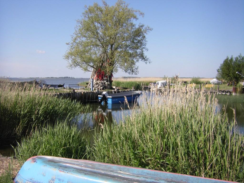 Zempin, Hafen am Achterwasser