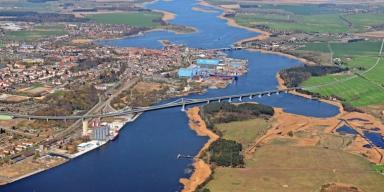 Peene-Brücke Wolgast
