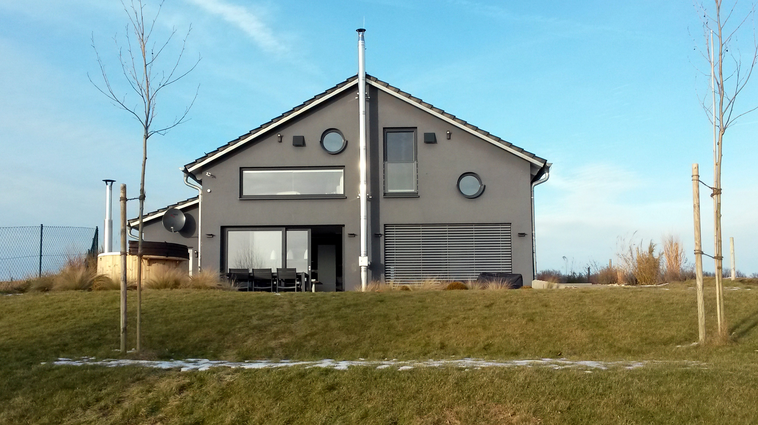 Januar 2017  Ferienhaus am Mhlfeldsee