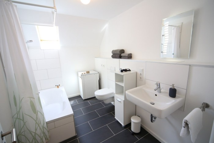 Badezimmer Ferienhaus Hofhaus