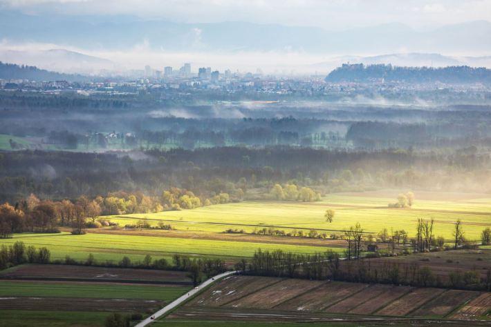 Das grüne Ljubljana © Jošt Gantar