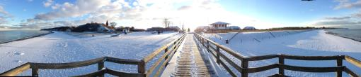 Reriker Strand im Winter