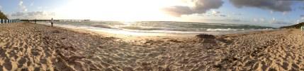 Der Sandstrand nah der Ferienwohnung Rerik