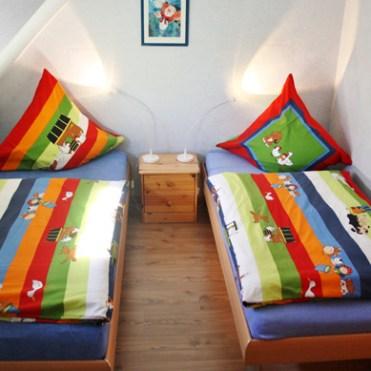 Kinderzimmer in der Ferienwohung auf Fehmarn