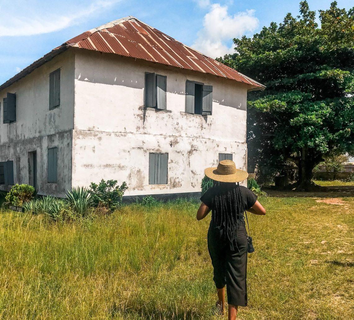 First Storey Building in Nigeria, Badagry