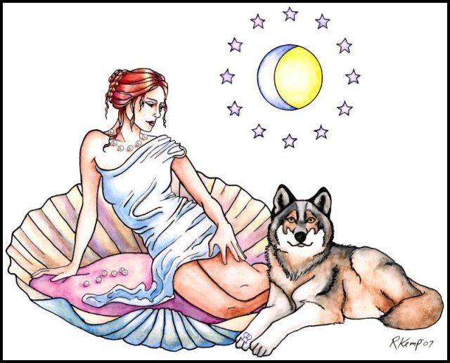Aphrodite and Companion