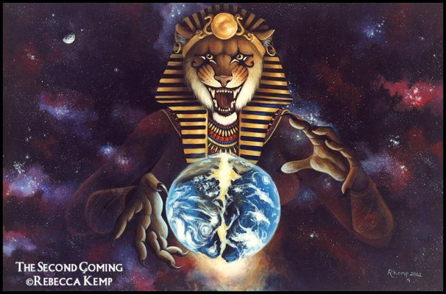 The Second Coming - Sekhmet destroys the world