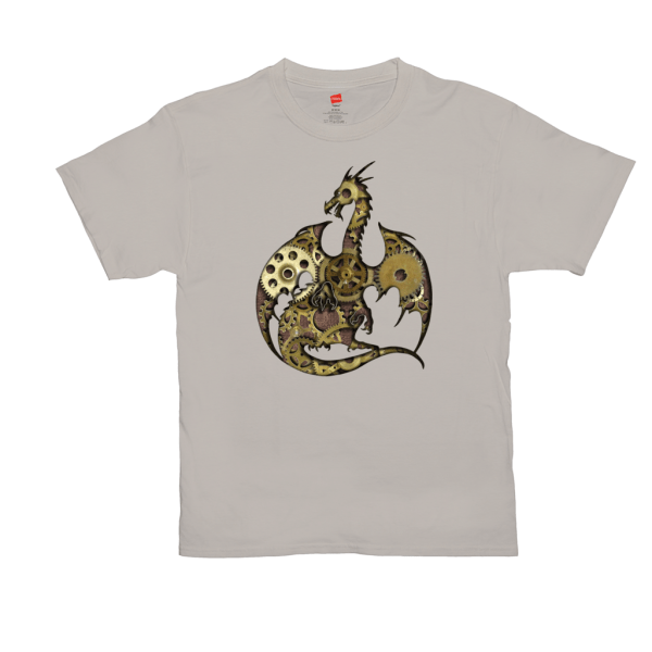 Clockwork Dragon T-Shirts - stone