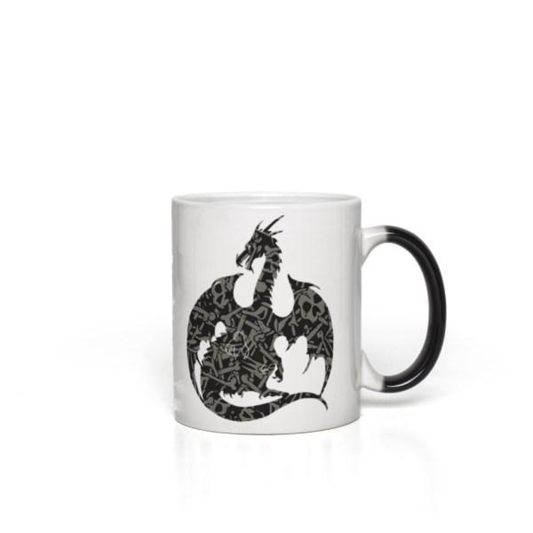 Color Changing Mug - Necromancy Dragon