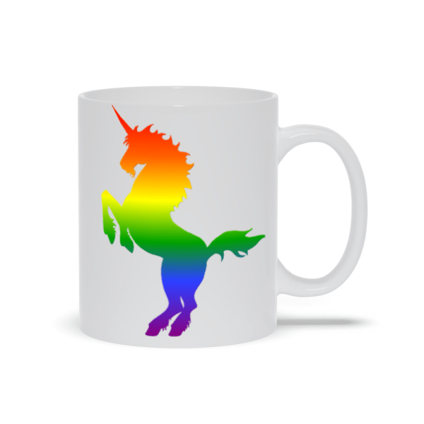 Rainbow Unicorn Mug - 11oz