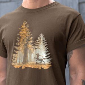 Mystic Hunter Centaur tshirt