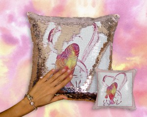 Sequin Pillows Are Here!