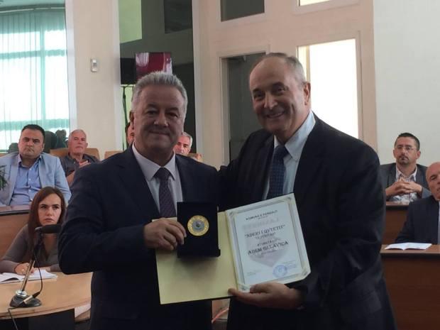 """21151621_1648617185173098_5064338675151717560_n """"Akademi përkujtimore në nderim të jetës dhe veprës së veprimtarit Gjon Serreqi"""" plus 5 more Ferizaj Press"""