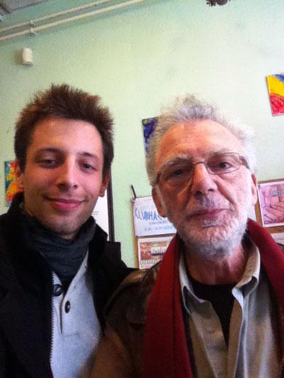 Ferles Péter és Feldmár András