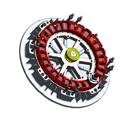 Mıknatıslı ahır fan motoru