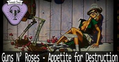 Vitrine Guns N Roses Appetite for Destruction - Fermata Tracks #49 - Guns N' Roses - Appetite for Destruction