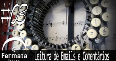 Vitrine1 - Leitura de Emails e Comentários #03