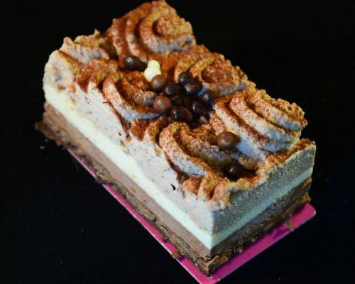 gâteau 3 chocolats ferme de Berdin Banos