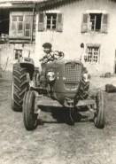 paul sur son tracteur