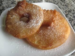 rondelles de pomme frites