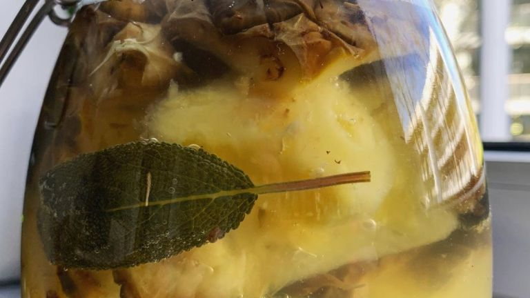 Zero Waste Ananas, Teil 1. Tepache.