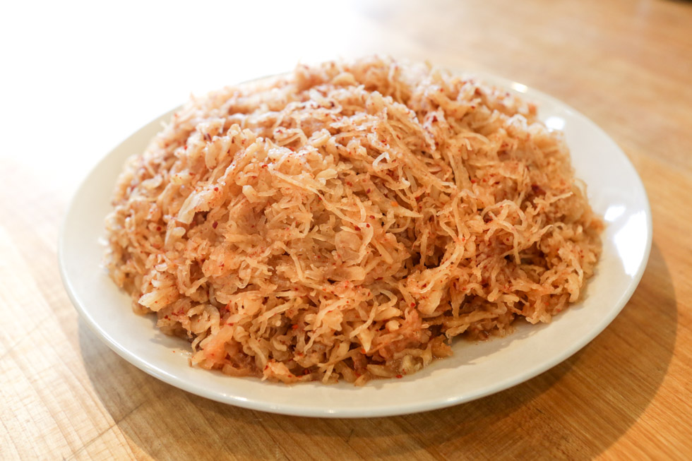 Fermented Spicy Daikon Radish recipe